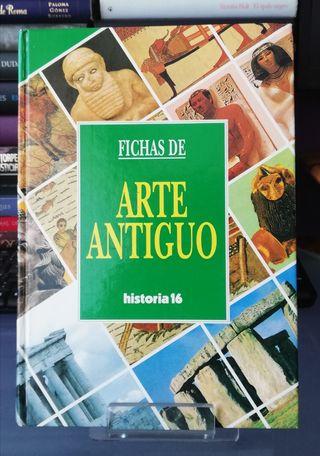 FICHAS DE ARTE ANTIGUO. HISTORIA 16