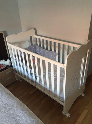 Cuna bebe niño niña