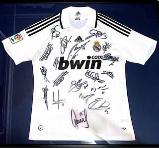 Camiseta Real Madrid Firmada