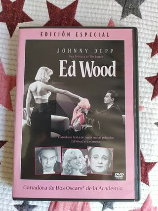 Tim Burton DVD Ed Wood