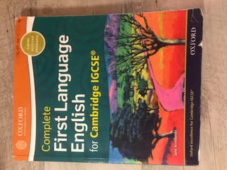 First language English for Cambridge igcse