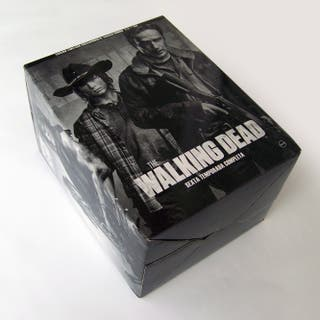 Pack Walking Dead bluray con figura