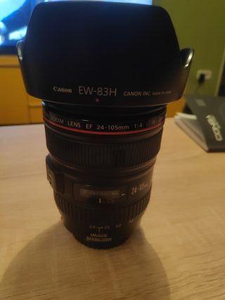 Objetivo Canon 24-105 f/4 L