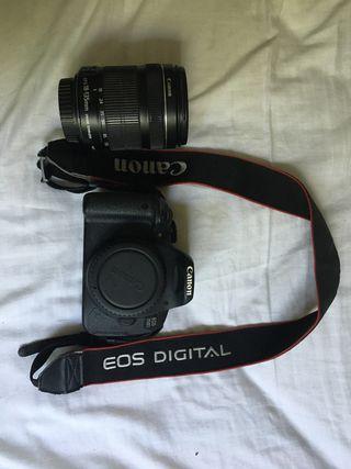Canon 700D 18-135 lens