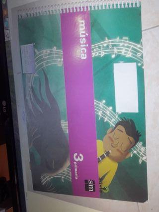 libro de música 3º de primaria savia SM