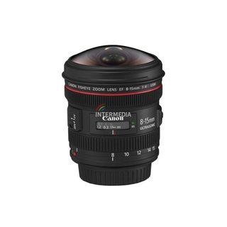 Alquiler objetivo Canon EF 8-15mm f/4L Fisheye USM