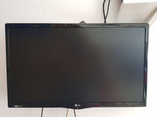 Televisión LG 21'5 con soporte pared