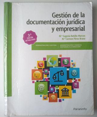 Libro de Gestión de la documentación juridica