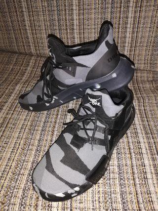 zapatillas camuflaje urbano