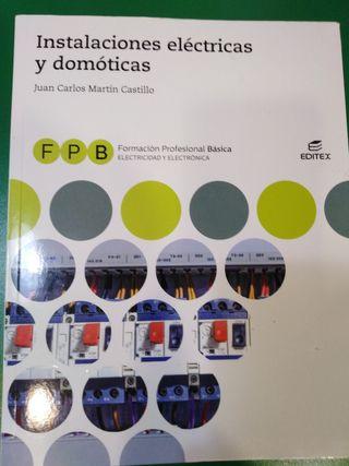 Libro F. P. B. primero. Instalaciones eléctricas