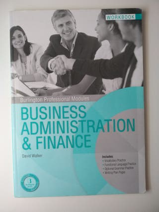 Worbook Business Administration & finance