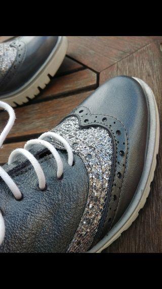 zapatos de piel de Lolita Blu talla 35 o 36 peque