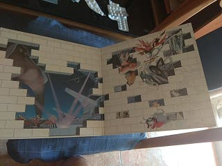 vinilo Pink Floyd, the wall