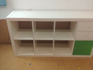 mueble ikea 8 estantes