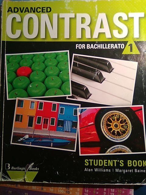 Advanced Contrast. Libro inglés 1 Bachillerato