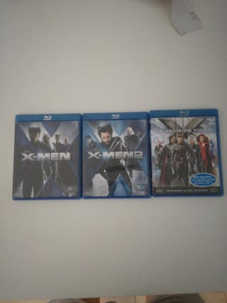 Pack Blue Ray Colección X-Men