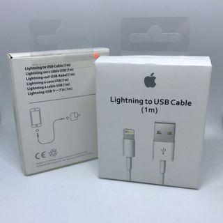 Cable USB 1m cargador iPhone iPad