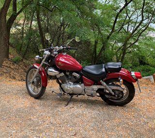 Moto Clásica Yamaha Virago