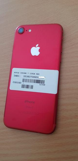 IPHONE 7 DE 128GB ORIGINAL DE APPLE LIBRE BUEN EST