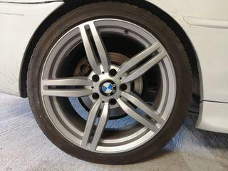 "llantas BMW m6 18"" recien pintadas con neumático"