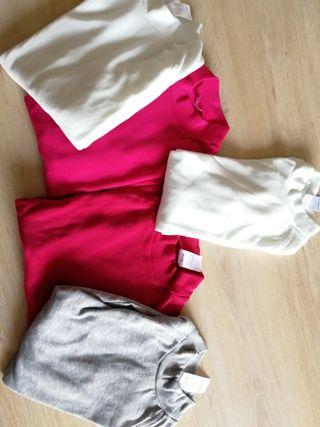 Lote camisetas térmicas Decatlon niña 8 años