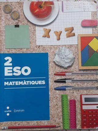 Llibre matemàtiques 2n eso cruïlla