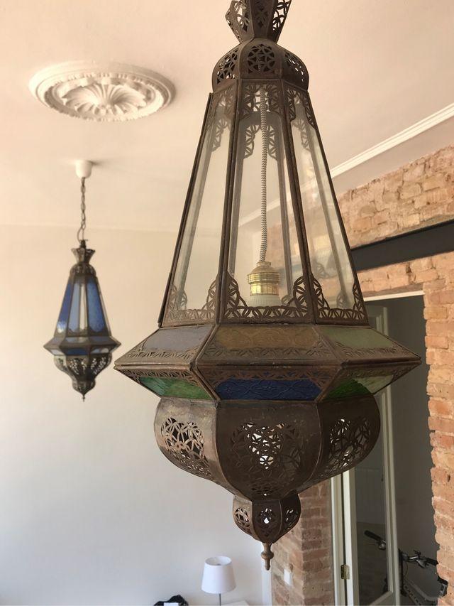 Lámpara de techo colgante, oriental