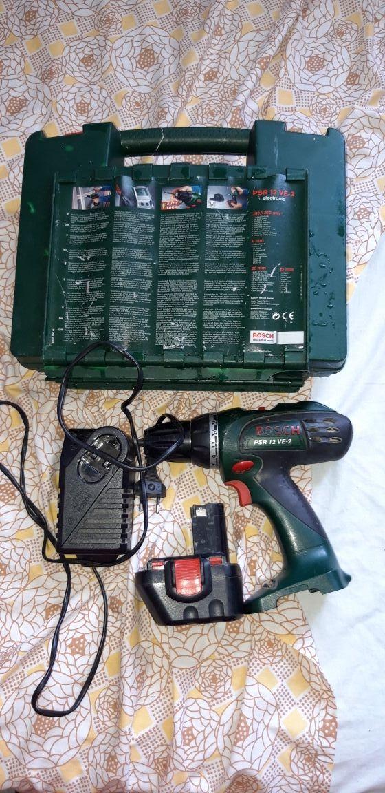 taladro a batería marca Bosch batería casi nueva