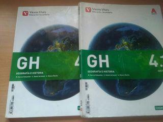 Geografía Historia Vicens Vives 4eso 14€