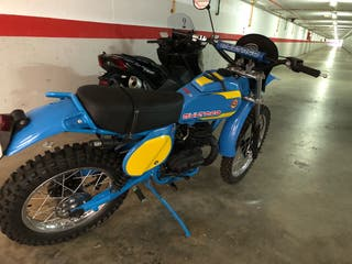 Moto bultaco mk11 370cc
