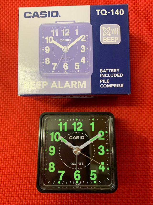 Reloj despertador Casio TQ140 ... NUEVO