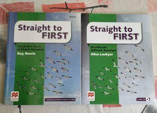 Libro Inglés Straight to First (Macmillan)