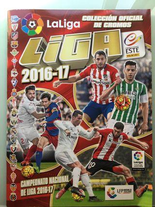 Album de la liga de futbol profesional 2016-17