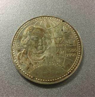 Moneda 12 Euros 2006 PLATA Autentica