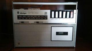 radio cassette retro