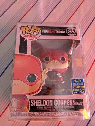 Funko pop! Sheldon Cooper as flash