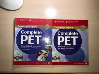Libros inglés B1 Cambridge/ PET