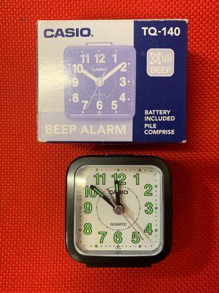 Reloj despertador Casio TQ141 NUEVO