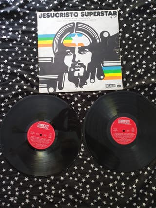 Jesucristo Superstar disco vinilo
