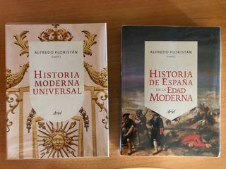 Pack de 2 libros de historia moderna