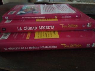 libros Tea Stilton infantil-juvenil perfecto estad