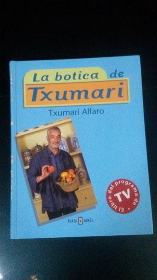 """Libro """"La Botica de Txumari"""""""