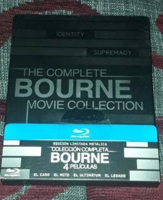 Bourne Saga Completa Steelbook Bluray
