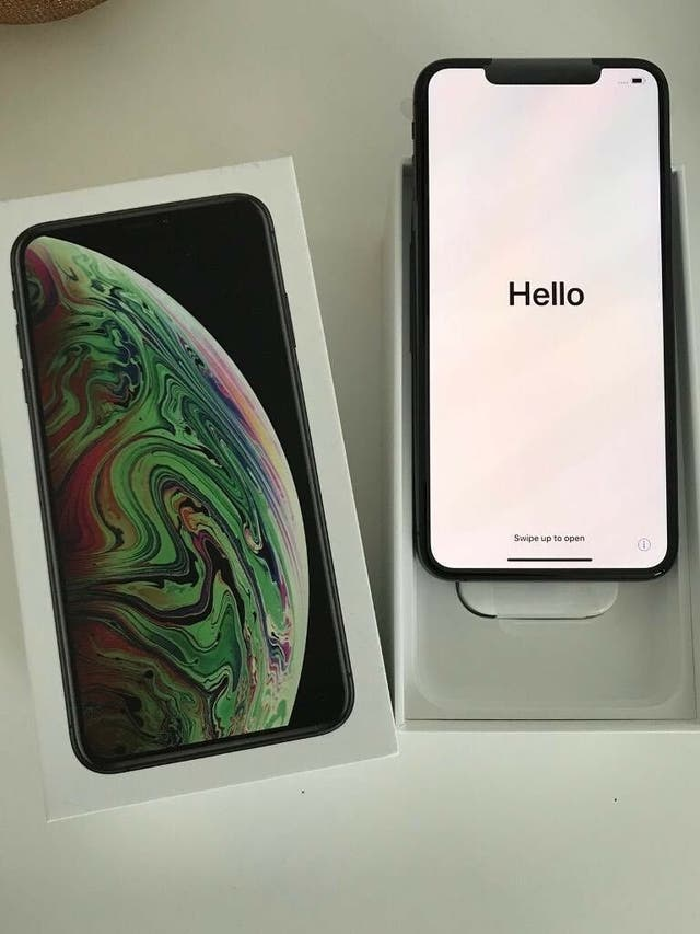 iPhone xs Max 512 Gb Negro Factura Apple store