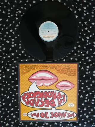 La Década Prodigiosa disco vinilo