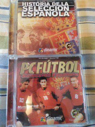 Pc Fútbol selección española 98
