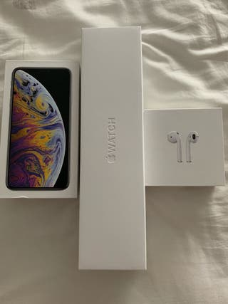 Iphone XS Max + Watch Series 4 + Airpods