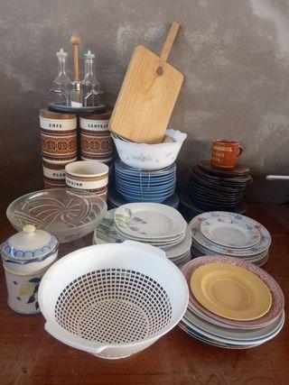 Juegos de platos y demás