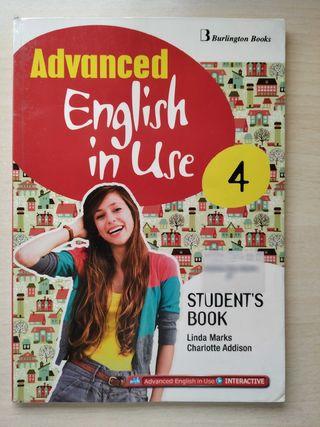 Libro inglés Advanced English in Use 4 ESO
