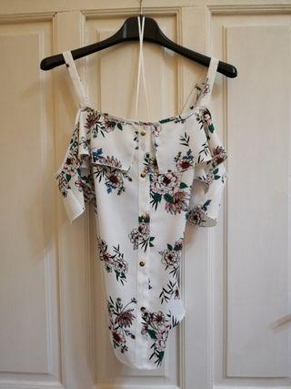 Blusa Estampada De Flores